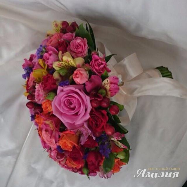 Салон цветов букет невесты в сентябре